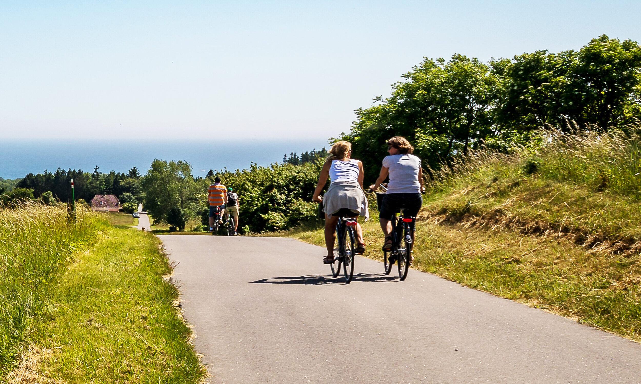 Cykel- og vandreruter på Møn - Cykeltur